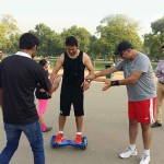 BATTBOT Training India Gate 2