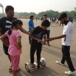 BATTBOT Training India Gate 9